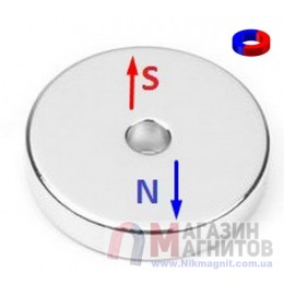 Ø D30 - 6 х H3 mm DN - Магнит Кольцо