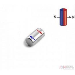 D5 mm х H10 mm DN - Магнит Шайба