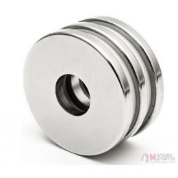 Ø D20 - 6 х H10 mm - Магнит Кольцо