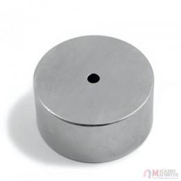 Ø D45 - 6 х H25 mm - Магнит Шайба с отверстием(6мм)