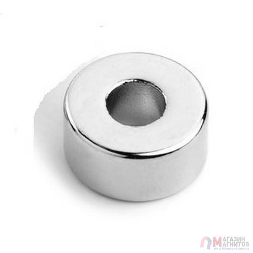 Ø D10 - 3 х H4 mm - Магнит Кольцо