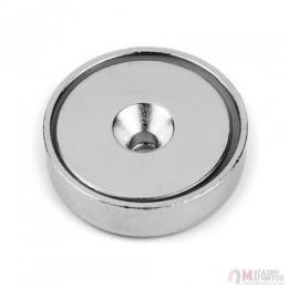 Крепежный Магнит в металлическом корпусе под потай A10