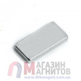 10 x 5 x 1 mm - Прямоугольный магнит