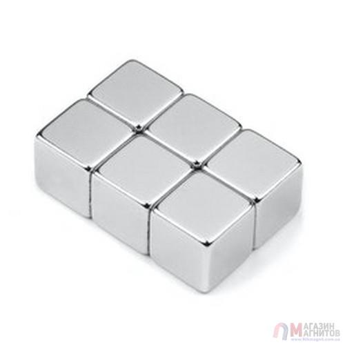 15 x 15 x 15 mm - Магнит Куб