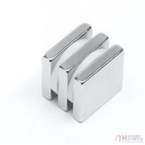 10 x 10 x 3 mm - Квадратный Магнит