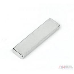 20 x 6 x 2 mm - до 150 °С - Прямоугольный магнит 38SH