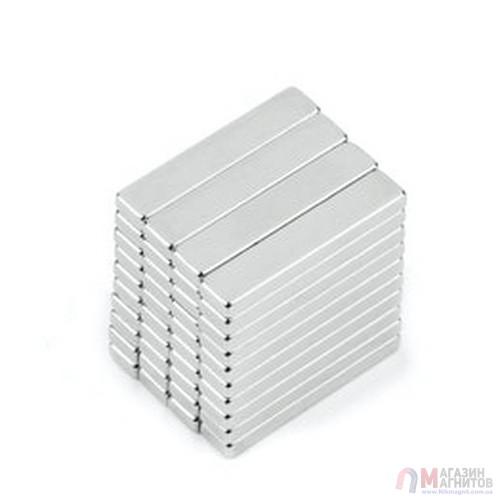 20 x 4 x 2 mm - Прямоугольный магнит