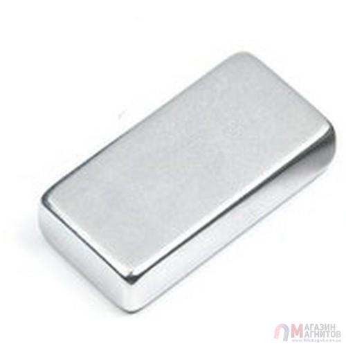 50 x 40 x 10 mm - - до 150 °С - Прямоугольный магнит 38SH