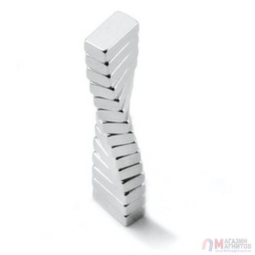 5 x 4 x 1,5 mm - Прямоугольный магнит