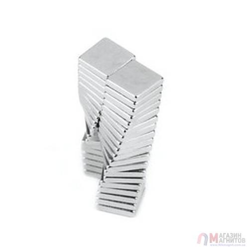 10 x 10 x 1 mm - Квадратный Магнит