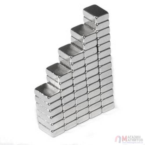 6 x 5 x 2 mm - Прямоугольный магнит