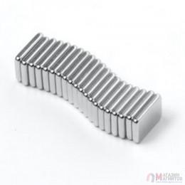 7 x 6 x 1,2 mm - Прямоугольный магнит